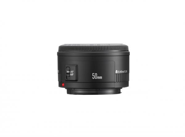 Canon EF 50mm f/1.8 II SLR Teleobjektiv Schwarz
