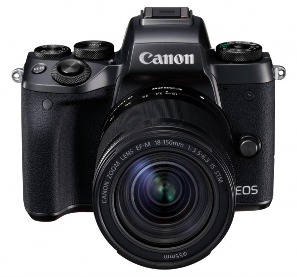 Canon EOS M5 + 18-150 + adapter Systemkamera 24.2MP CMOS 6000 x 4000Pixel Schwarz