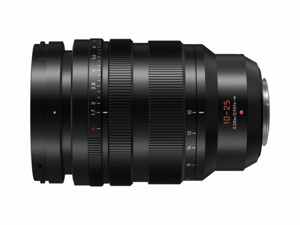 Panasonic LEICA 1,7 / 10-25 mm Superweitwinkelzoom Lumix G Objektiv