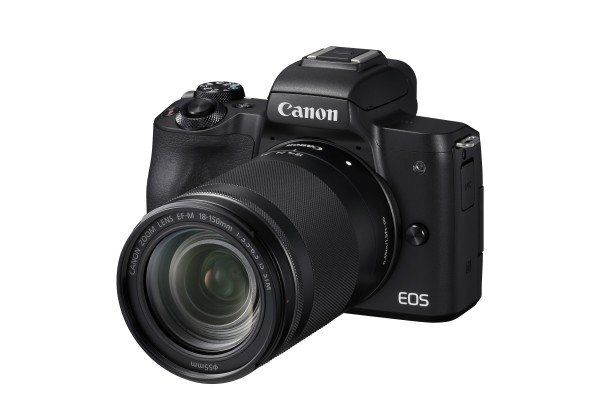 Canon EOS M50 + 18-150 mm Systemkamera 24.1MP CMOS 6000 x 4000Pixel Schwarz
