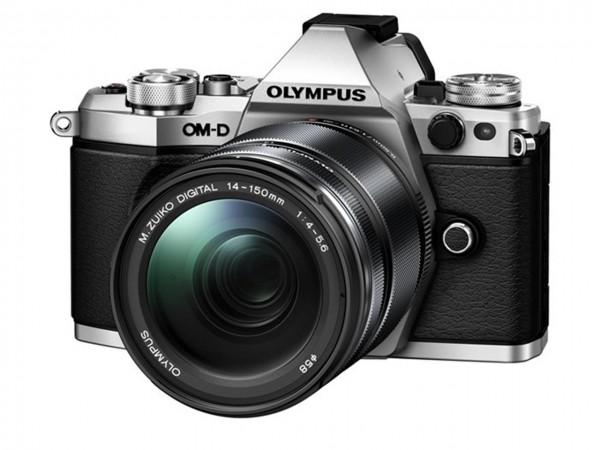 Olympus OM-D E-M5 Mark II+ED 4,0-5,6/14-150mm II silber Kit