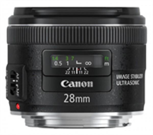 Canon EF 28mm f/2.8 IS USM SLR Weitwinkelobjektiv Schwarz