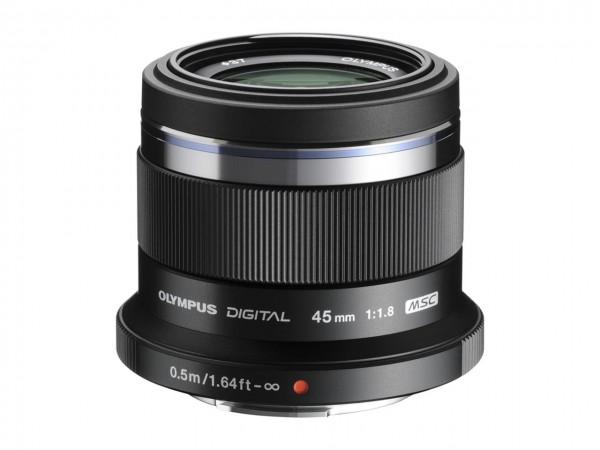 Objektiv M.Zuiko Digital 1,8 / 45 mm schwarz