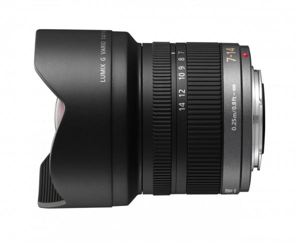 Objektiv Lumix G Vario 4,0 / 7-14 mm ASPH.