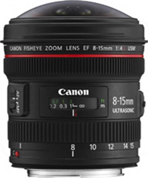Canon EF 8-15mm f/4L Fisheye USM SLR Weitwinkel-Fischaugenobjektiv Schwarz