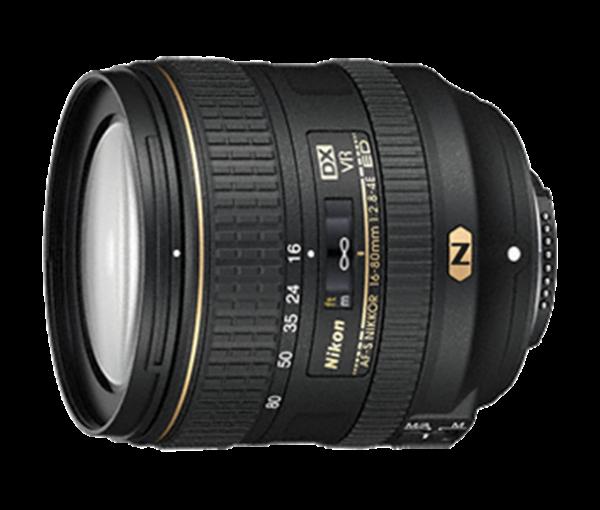 Objektiv Nikkor AF-S DX 2,8-4,0 / 16-80 mm ED VR