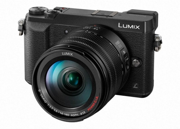 Panasonic Lumix GX80+3,5-5,6/14-140 mm P-OIS schwarz G X Vario-Kit
