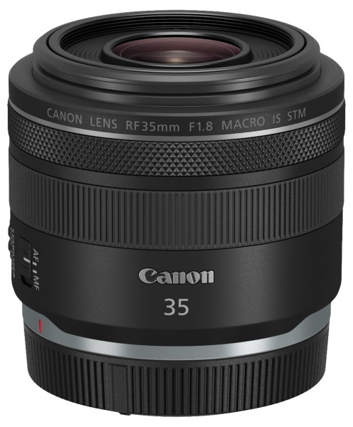 Canon RF 35mm F1.8 Macro IS STM Systemkamera Makro-Objektiv Schwarz