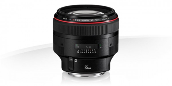 Canon EF 85mm f/1.2 L USM II Lens Teleobjektiv Schwarz