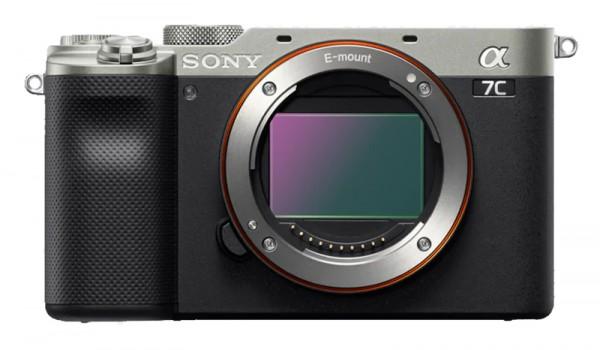 Sony Alpha ILCE 7C Gehäuse silber