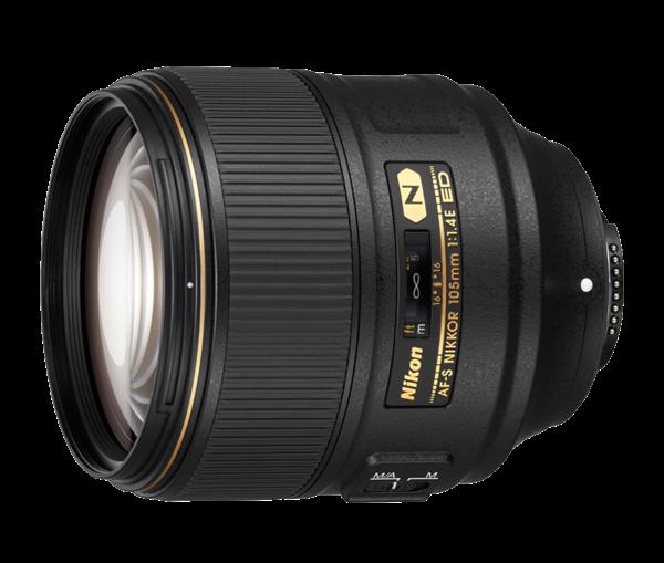 Nikon Nikkor AF-S 1,4 / 105 mm E ED Objektiv