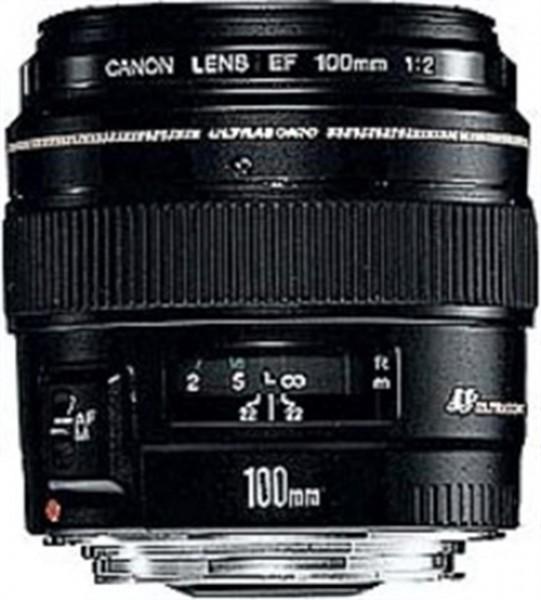 Canon EF 100mm f/2.0 USM Schwarz